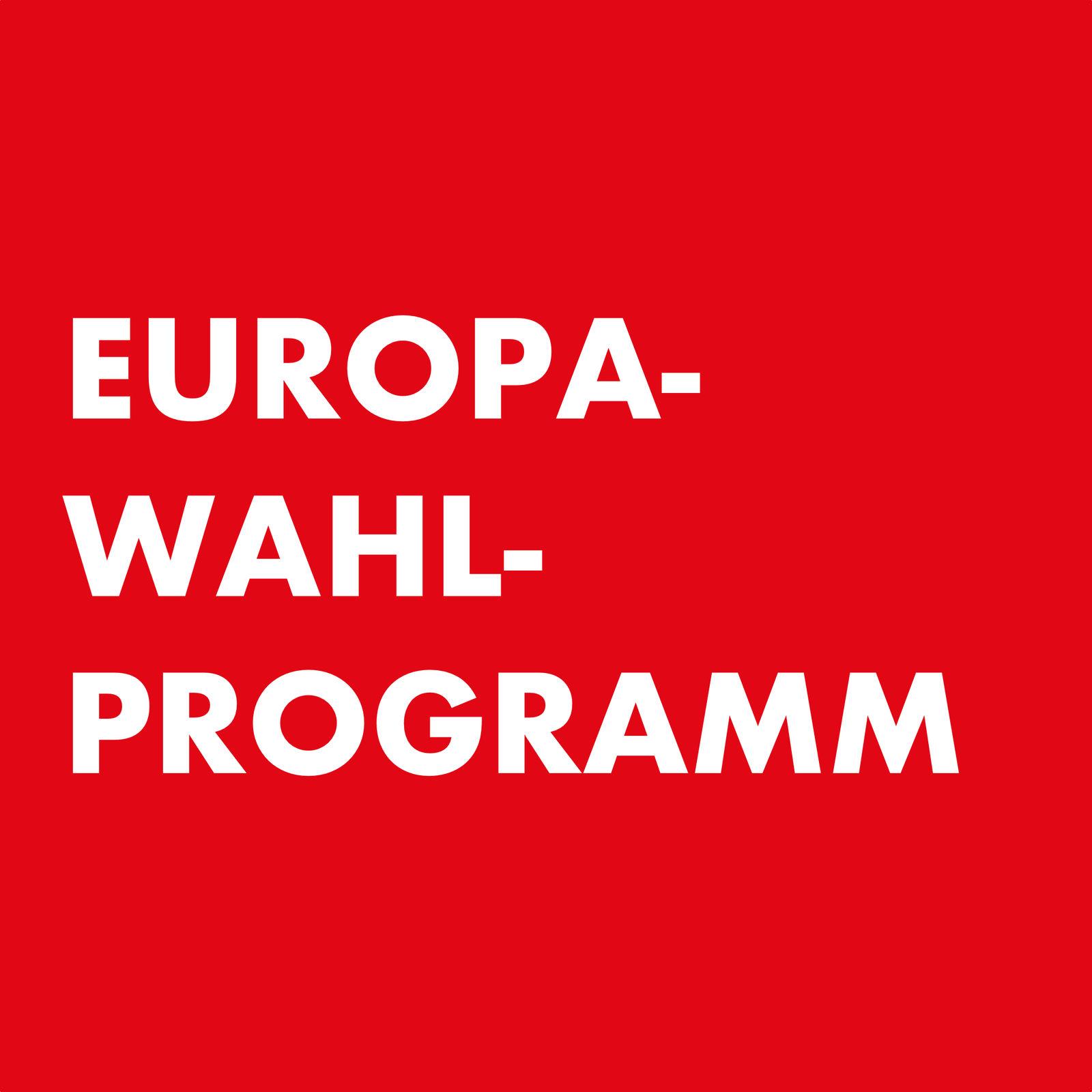 """EUROWAHLPROGRAMM"""